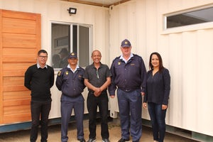 Loeriesfontein community receives a victim friendly facility support centre