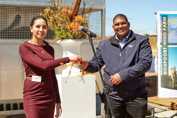 Noupoort wind farm officially inaugurated