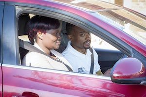 Driving School Programme underway at Noupoort, South Africa