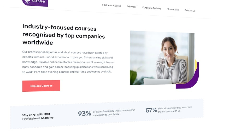 Just Launched: UCD Professional Academy