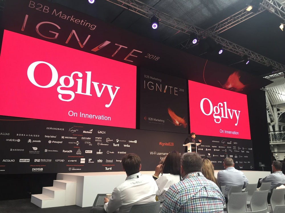 Ogilvy on big screens