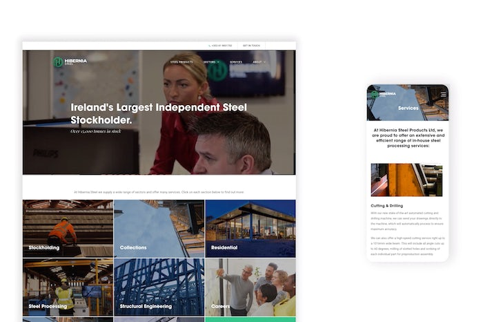 Just Launched: Hibernia Steel