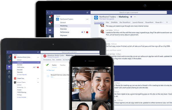 Microsoft Teams - A Collaboration Hub