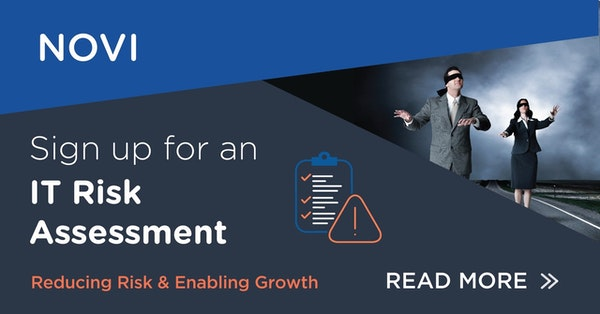Sign up for an  IT Risk Assessment