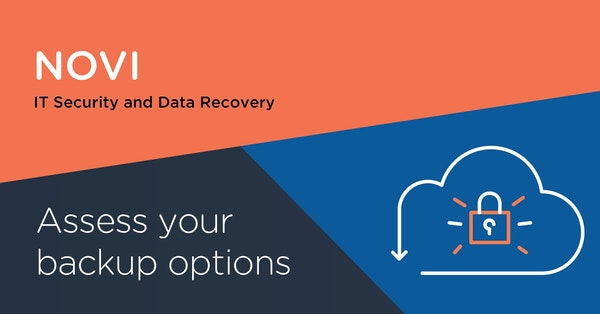 Assess your backup options