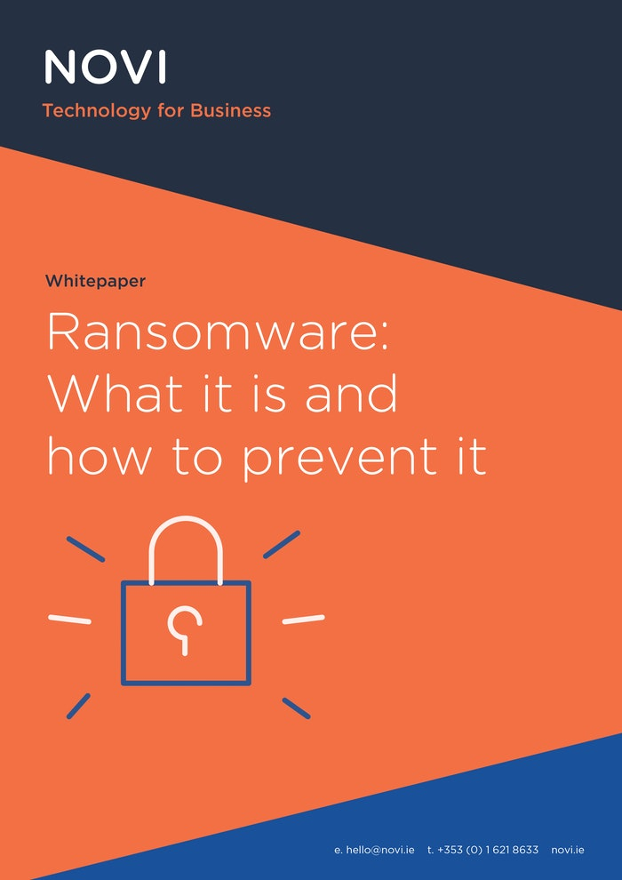 Ransomware: What it is and how to prevent it