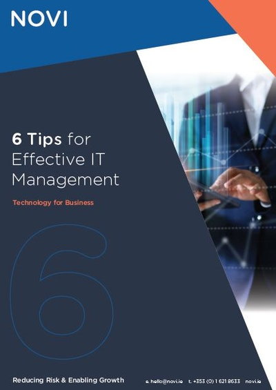 6 Tips for Effective IT Management