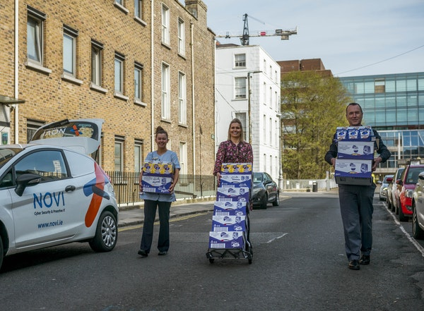 Easter delivery to The Mater Hospital