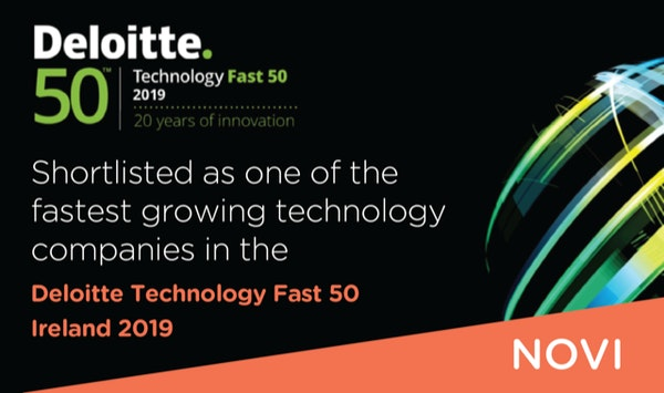 Novi shortlisted for Deloitte Technology Fast 50 Programme