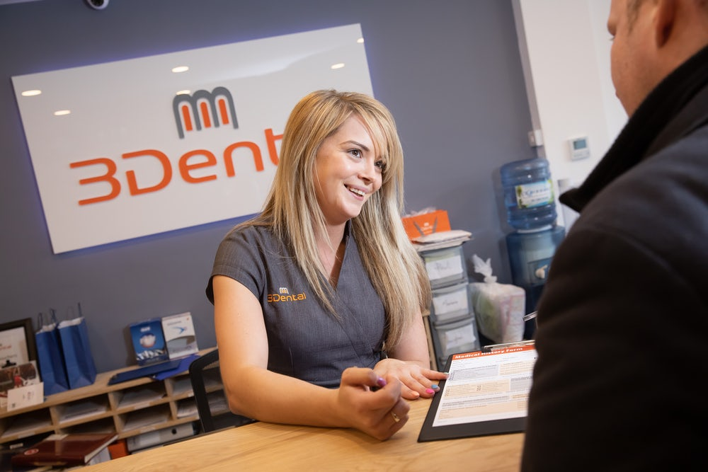 book your free consultation at 3dental