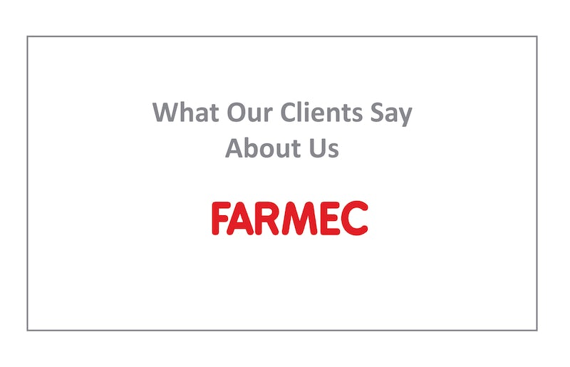 Farmec Testimonial For DBASS