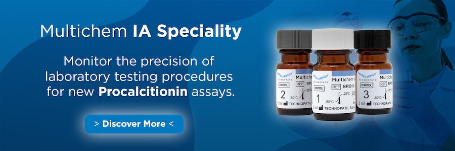 Multichem IA Speciality monitors the precision of Procalcitonin test for Sepsis