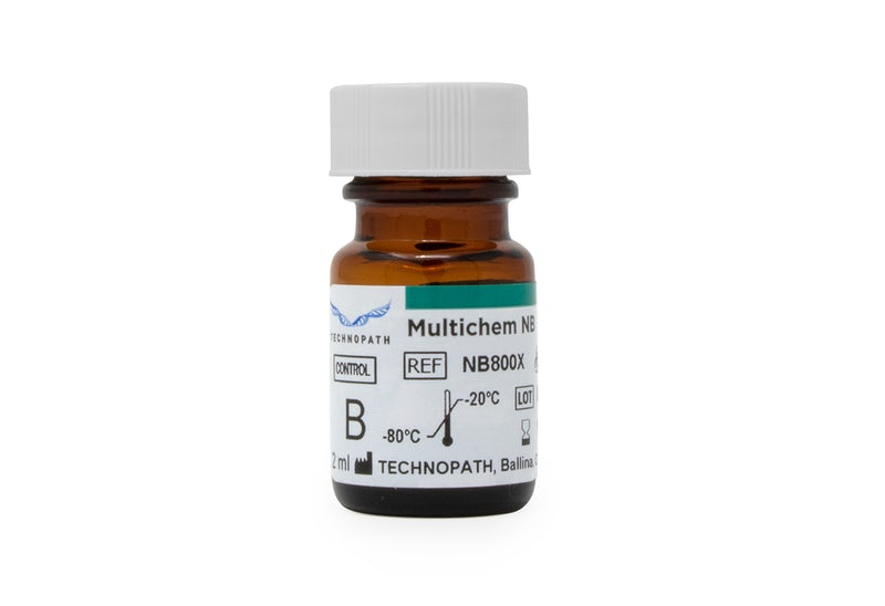 Multichem NB third-party quality control vial