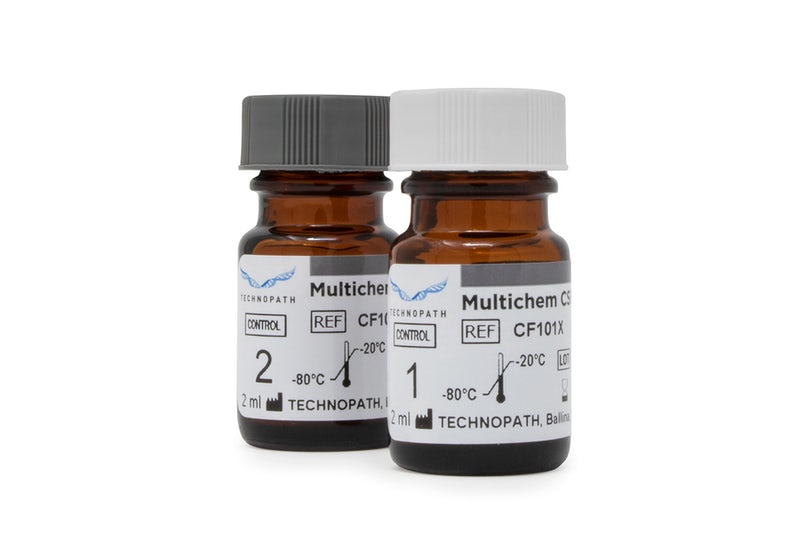 Multichem CSF third-party quality control vials