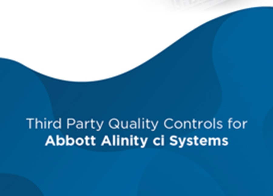 Multichem Barcoded QC for Abbott Alinity ci Systems