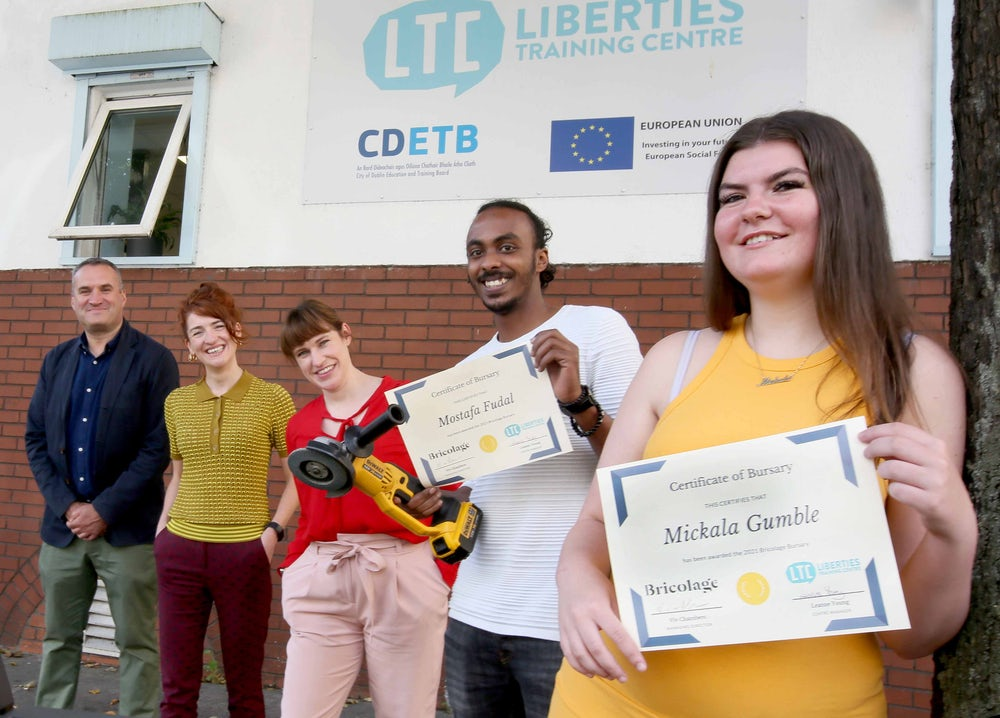 The Bricolage Scholarship: FET students awarded a helping hand