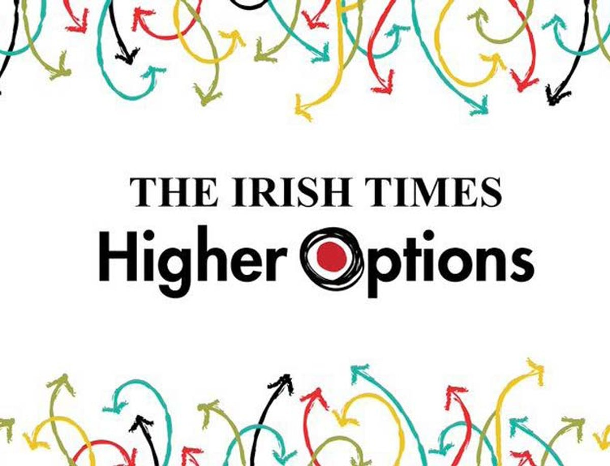 Higher Options: Ireland's largest exhibition for learners to take place this week