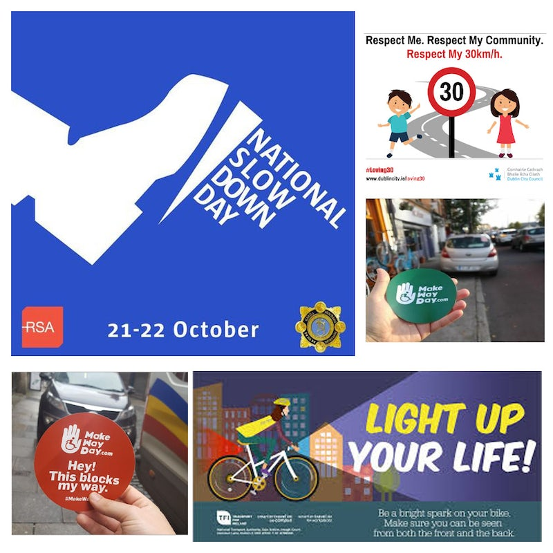 Road Safety – Slow Down Day – Make Way