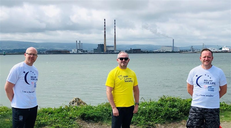Local Lads Undertake 150km in a Day for Irish Cancer Society