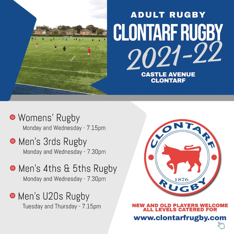 Rugby is Back @ Castle Avenue!
