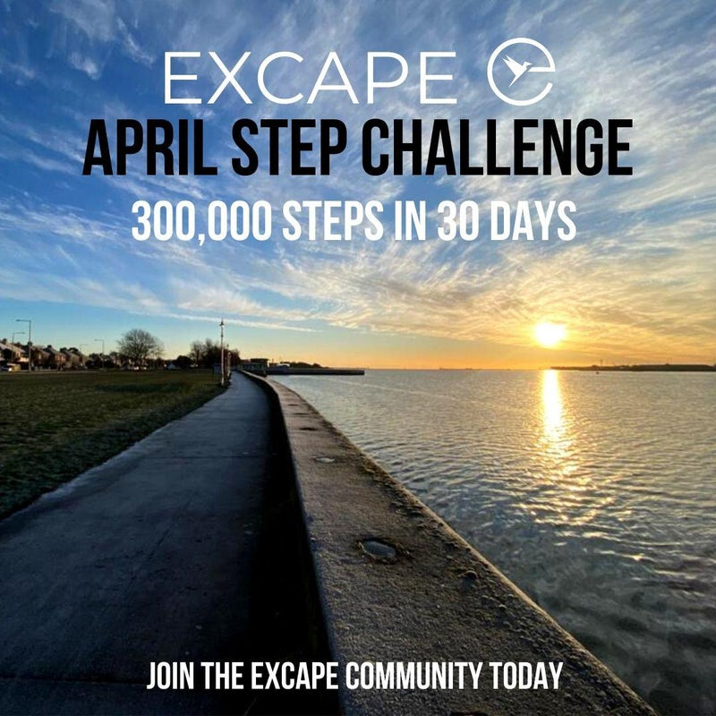 Excape April Step Challenge!