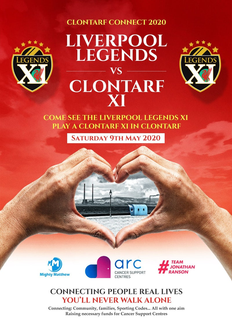 Clontarf Connects | Liverpool Legends Charity Match