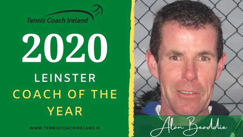 Clontarf's Alan Beaddie is Leinster Coach of the Year!