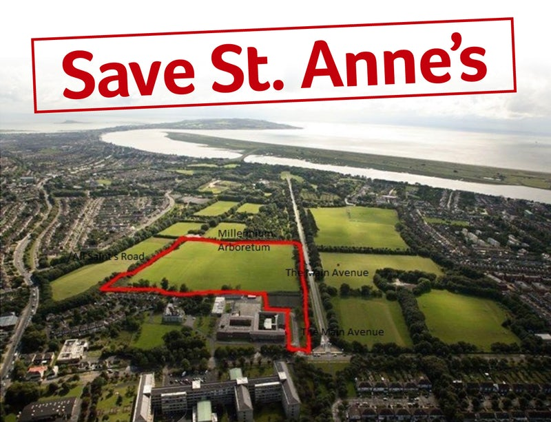 Update on Proposed Development St. Paul's Playing Fields in St Anne's