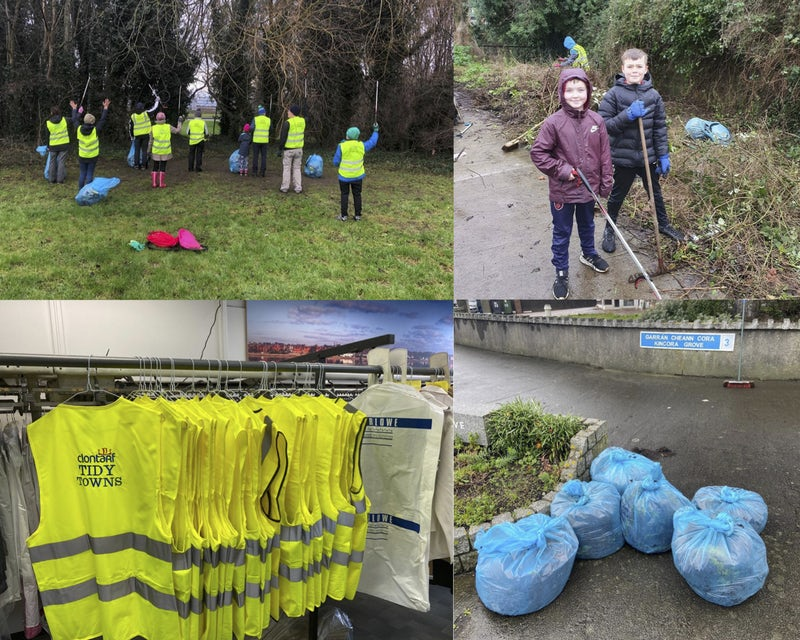 Tidy Towns are on a Mission to #CleanUpClontarf