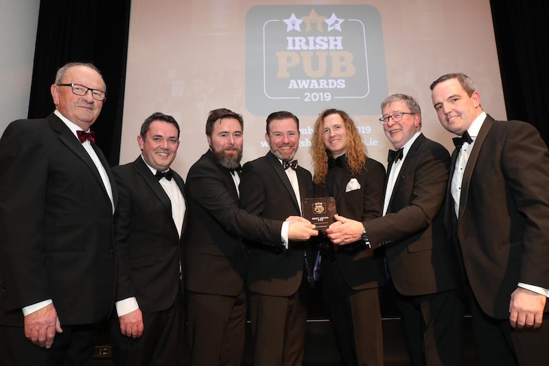 Harry Byrne's Win 'Local Pub of the Year' at Irish Pub Awards!