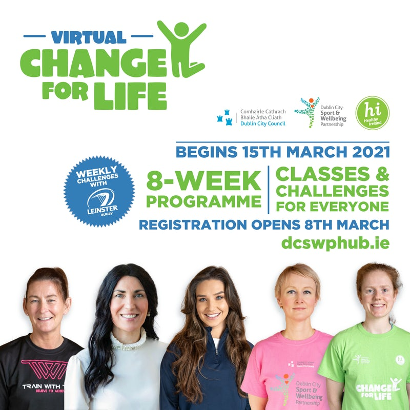 Virtual Change for Life 8 Week Programme!