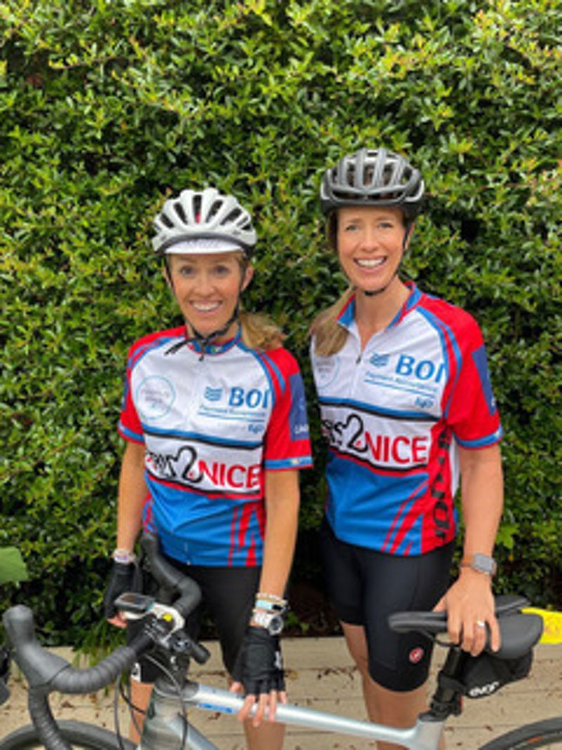 Local Woman Cycling 750km for Cancer Society!