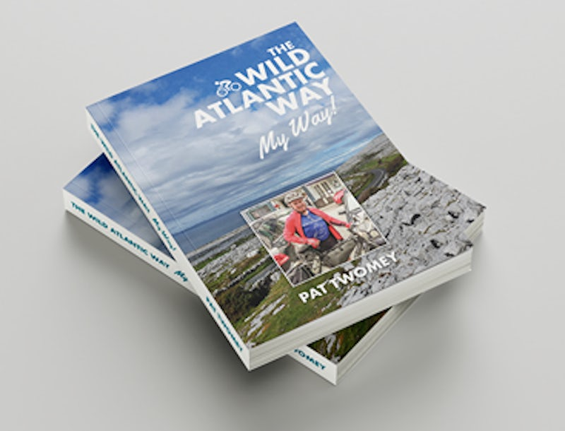 Local Pat Twomey launches Book on Wild Atlantic Way Journey!