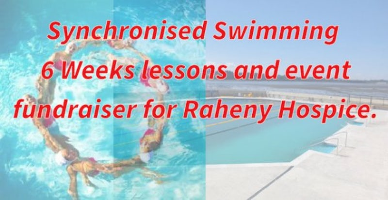 Synchronised Swimming for the Hospice!