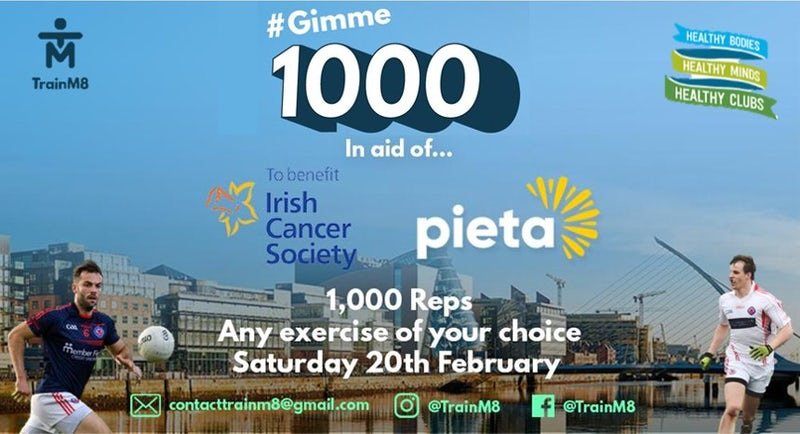 Clontarf Gears Up for #Gimme1000 in Aid of Pieta & Irish Cancer Society