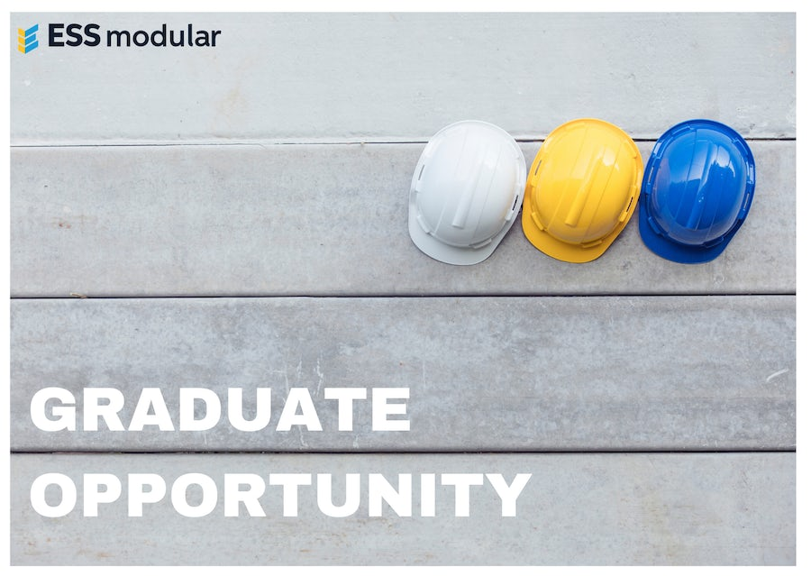 Exciting Graduate Opportunity at ESS Modular
