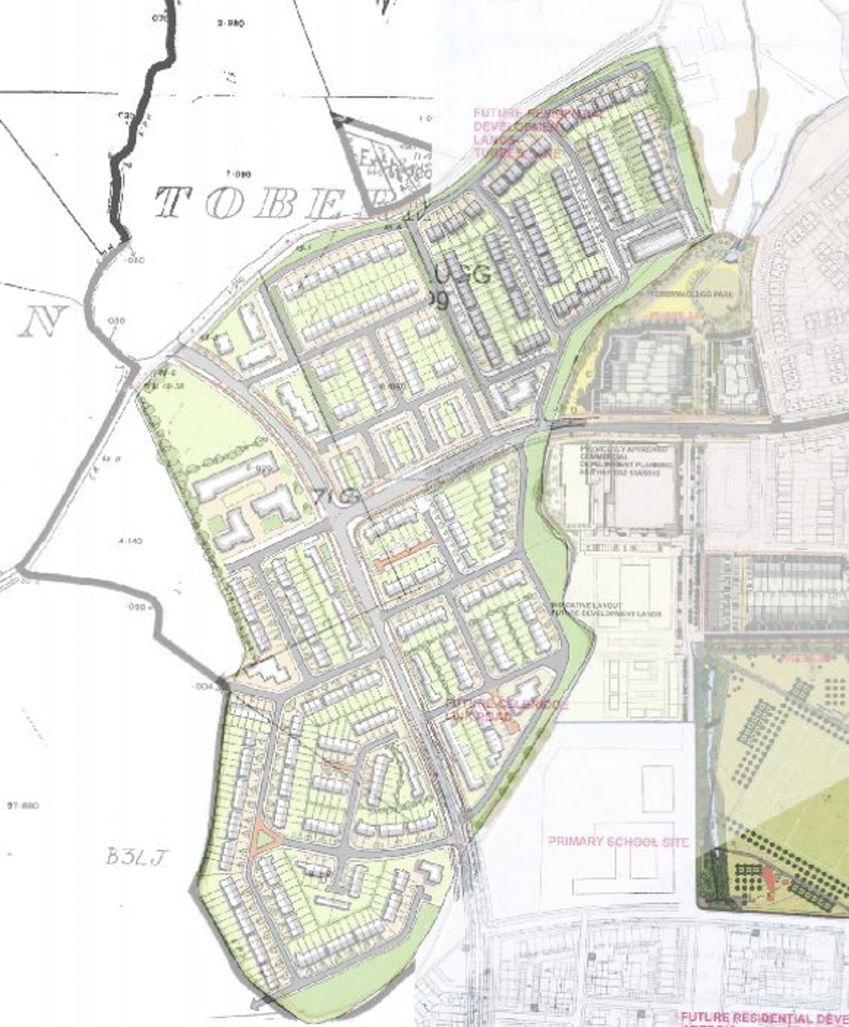 Hallwell is a new residential quarter that forms part of the Adamstown Strategic Development Zone.
